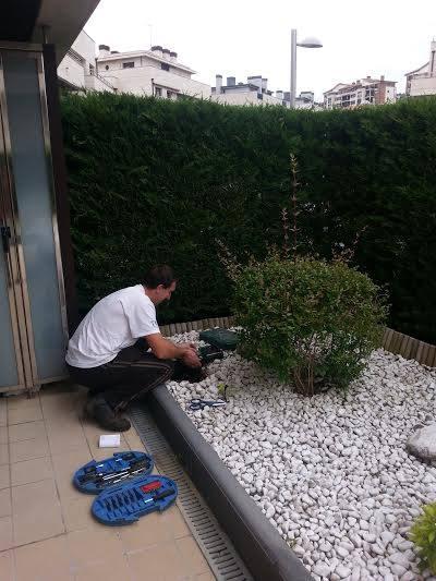 mantenimiento jardín Berio