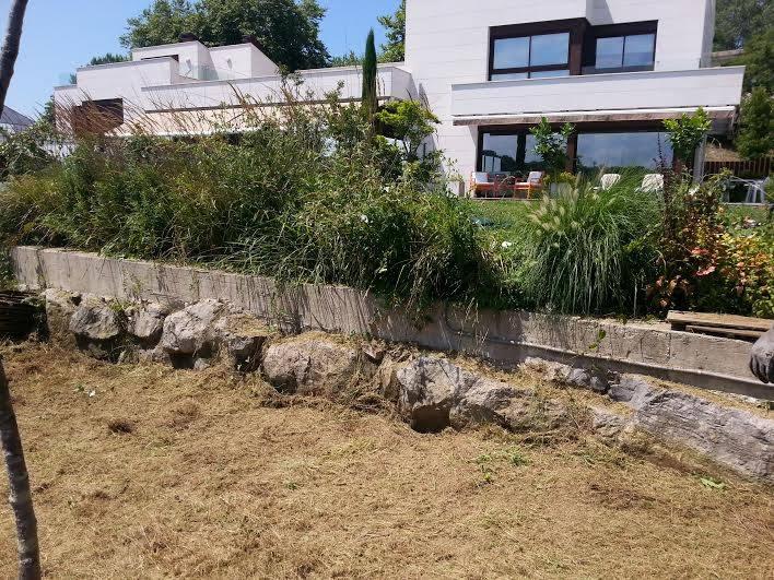 Reforma jardín Illarra