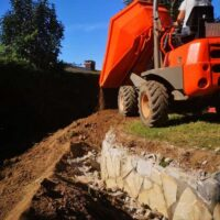 obras,excavaciones ,jardineria en Donostia